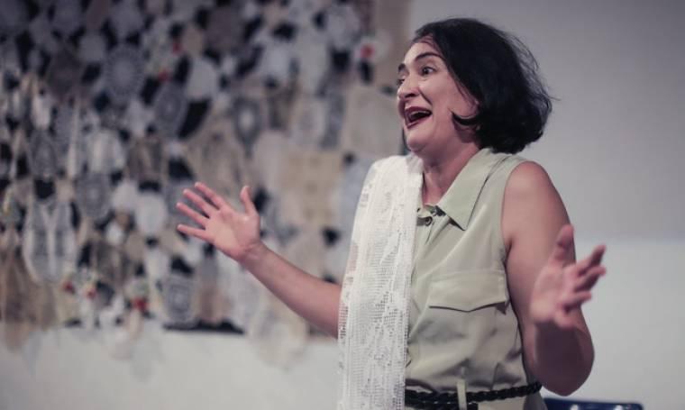 Σταματία, το γένος Αργυροπούλου, με την Ελένη Ουζουνίδου στο Θέατρο Κιβωτός