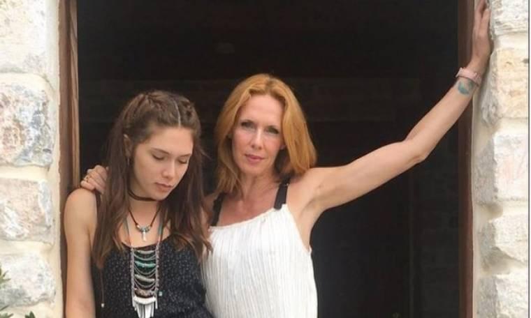 Εβελίνα Παπούλια: Το τρυφερό μήνυμα από την κόρη της μέσω Instagram