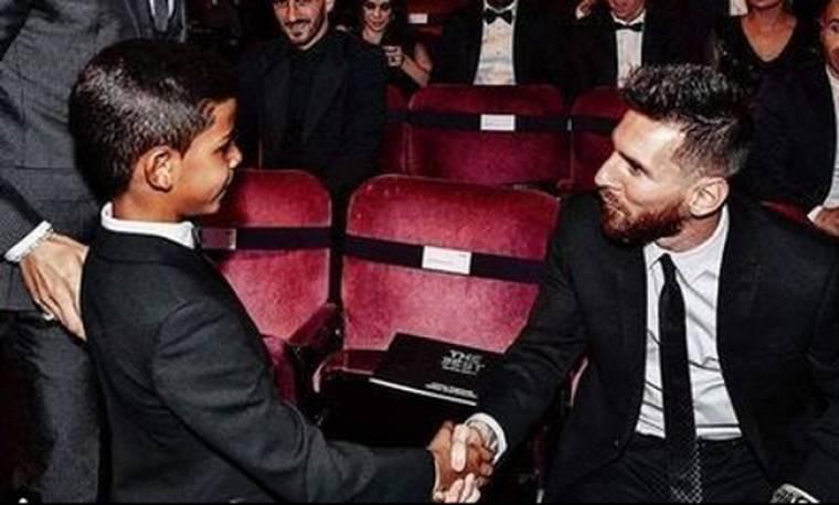 Ο γιος του Ronaldo αποθεώνει τον Messi... ξανά