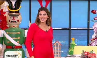 Σταματίνα Τσιμτσιλή: Το θεόστενο φόρεμα, η φουσκωμένη κοιλίτσα και τα σχόλια των συνεργατών της!