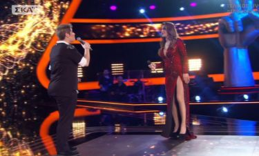 The Voice: «Φωτιά» στα κόκκινα η Έλενα Παπαρίζου