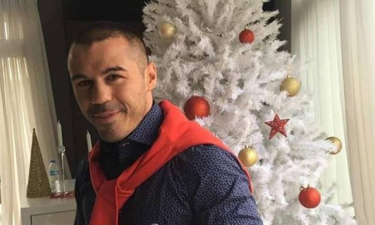 Μιχάλης Ζαμπίδης: Έτσι στόλισε για τα Χριστούγεννα το σπίτι του