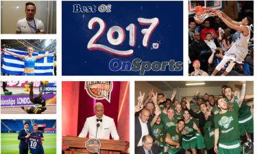 Ανασκόπηση 2017: Οι κορυφαίες 17 αθλητικές στιγμές για το 2017 (photos+videos)