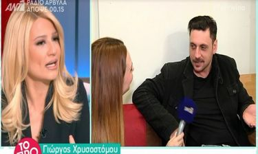 Απίστευτο! Η Σκορδά διέκοψε τη συνέντευξη του Χρυσοστόμου:«Ο άνθρωπος δεν θέλει να μιλήσει. Άσ' τον»