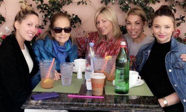 Όταν η Μιράντα Κερ συνάντησε την Μαρί Σαντάλ και την Μαρία Ολυμπία