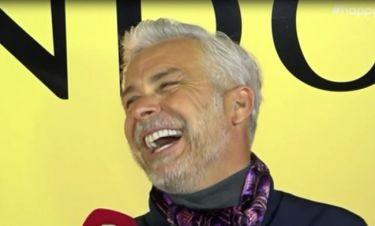 Χάρης Χριστόπουλος: Τρέλανε τους ρεπόρτερ με την ατάκα του για το «Game of Love»!