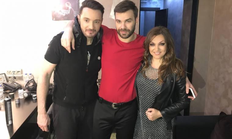 Στο Acro Club διασκέδασαν η Καίτη Γαρμπή και ο Χρήστος Μενιδιάτης