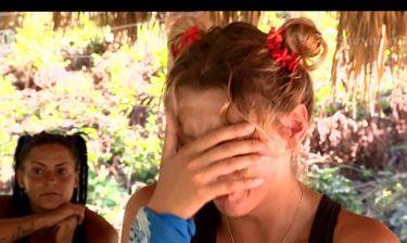 Survivor 2: Πλάνταξε στο κλάμα η Ντάρια με το μήνυμα που έλαβε