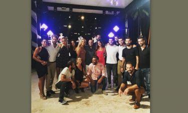 Άκης Δείξιμος: Η φωτογραφία του με τους παίκτες από το βράδυ της Ένωσης