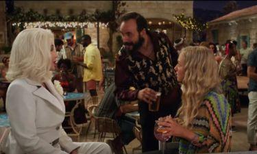 Ο Πάνος Μουζουράκης στο τρέιλερ του νέου «Mamma Mia»