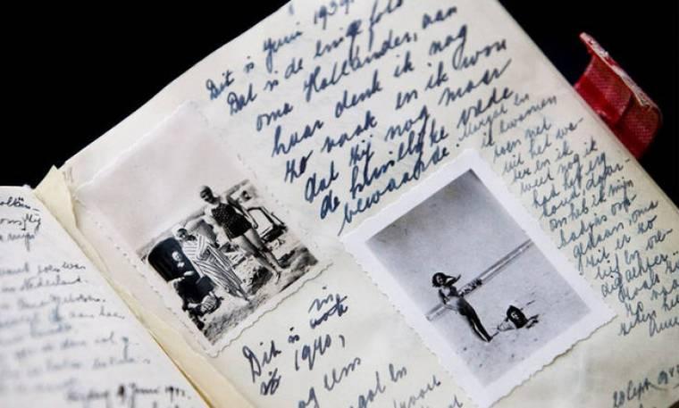Αποκαλύφθηκαν δύο «κρυφές» σελίδες στο ημερολόγιο της Άννα Φρανκ