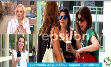 Άβα Γαλανοπούλου: Σοκαρισμένη η ηθοποιός στα δικαστήρια με τον πρώην σύντροφό της