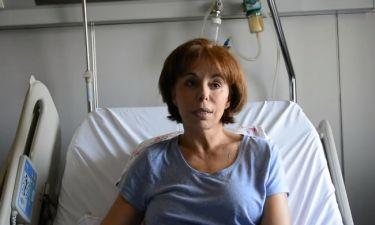 Στο νοσοκομείο η Βούλα Πατουλίδου