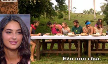 Survivor Πανόραμα: Η Ροδάνθη αποκάλυψε τον λόγο που ο Αγόρου θέλει να κάθεται πάντα στη μέση