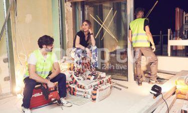Όταν οι celebrities πάνε στην Ρόδο και βοηθούν στην ανακαίνιση… ξενοδοχείου