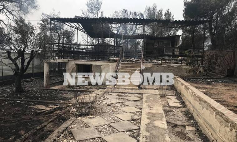Φωτιά Κινέτα: Βιβλική η καταστροφή από τη μεγάλη πυρκαγιά - Εικόνες αποκάλυψης