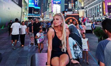 Αλεξάνδρα Παναγιώταρου: Ξετρελαμένη με την Νέα Υόρκη