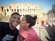 Γιάννης Αντετοκούνμπο: Eρωτευμένος στη Ρώμη