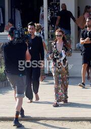 Lindsay Lohan: Backstage φωτογραφίες από τα γυρίσματα τoυ reality του MTV στην Μύκονο