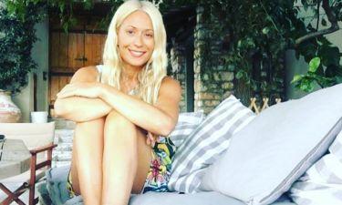 Μαρία Μπακοδήμου: Θα πάθετε πλάκα με την αρετουσάριστη φωτό της με μπικίνι