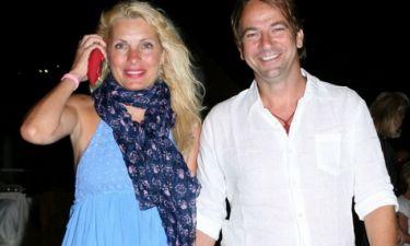 Μενεγάκη-Παντζόπουλος: Η κοινή φωτό και ο «επισκέπτης» που τους έχει ξετρελάνει!