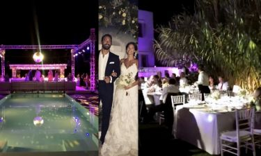 Τανιμανίδης – Μπόμπα: Μετά τον παραμυθένιο γάμο η λαμπερή δεξίωση - Ο χορός του ζευγαριού
