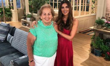 Σταματίνα Τσιμτσιλή: Πρεμιέρα με την μητέρα της στο πλατό