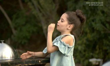 MasterChef Junior: Η μικρή Κλεοπάτρα  τρόλαρε τους κριτές