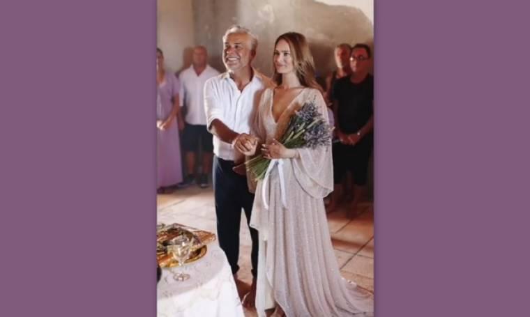 Χάρης Χριστόπουλος - Anita Brand: Το μοναδικό βίντεο από τον γάμο τους, που ζηλέψαμε
