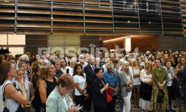 """Εγκαίνια για την έκθεση """"Γιάννης Μόραλης"""" στο Μουσείο Μπενάκη"""