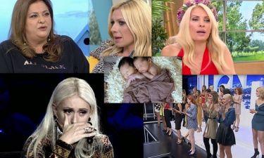 Η ενόχληση της Κωνσταντινίδου on air, η αποκάλυψη της Μενεγάκη και τα δάκρυα της Μπακοδήμου