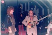 Η τελευταία μούσα του Γιώργου Ζαμπέτα σε μία μουσική βραδιά αφιερωμένη στον Σαράντη Αλιβιζάτο