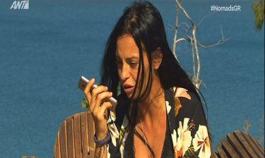 Nomads 2: Ούτε σε αυτό το έπαθλο επικοινωνίας μίλησε η Αλεξανδράκη με τον Μηλιώνη! Η αντίδρασή της!