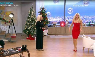 Άφωνη η Σκορδά με τη σιλουέτα της Μπακοδήμου – Αποκάλυψε τη δίαιτά της on air!