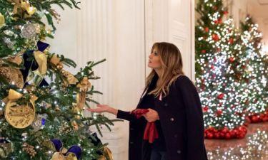 Μελάνια Τραμπ: H δήλωσή της για τον χριστουγεννιάτικο στολισμό του Λευκού Οίκου
