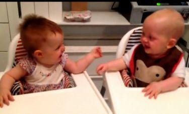 Το υστερικό γέλιο αυτών των μωρών θα σας ξετρελάνει (Video)