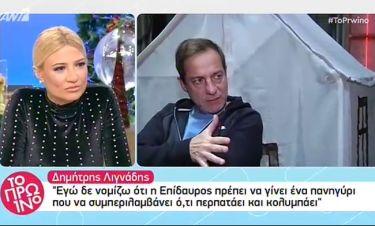 Δημήτρης Λιγνάδης: «Δε νομίζω ότι η Επίδαυρος πρέπει να γίνει ένα πανηγύρι...»