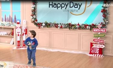 Ο γιος του Κώστα Βουτσά εισέβαλε στο Happy Day