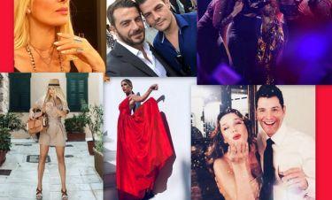 Ανασκόπηση 2018: Οι στιγμές των Ελλήνων celebrities που «έριξαν» το Instagram (pics)