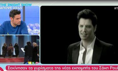 Σάκης Ρουβάς: Έκανε το πρώτο γύρισμα για τη νέα εκπομπή του στον ΣΚΑΪ - Μάθετε λεπτομέρειες