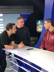 Ο Δημήτρης Παπαδόπουλος καλεσμένος του Ντέμη Νικολαϊδη στην εκπομπή «Total football»