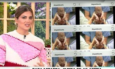 Σταματίνα Τσιμτσιλή: Οι τρεις γέννες και οι φωτό από το μαιευτήριο!