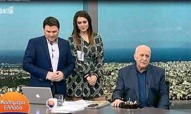 Γιώργος Παπαδάκης: Η ατάκα του on air για την πρεμιέρα της Μπάγιας Αντωνοπούλου στον ΣΚΑΪ