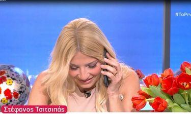 Σκορδά: Το ξαφνικό τηλεφώνημα της μαμάς της και η αντίδρασή της on air!