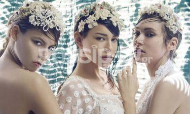 Τα μοντέλα του GNTM φωτογραφήθηκαν για τη νέα κολεξιόν hair accessories  της Ιωάννας Τζάνη