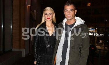 Χανταμπάκης: Με τη σύζυγό του Όλγα Πηλιάκη στη Γλυφάδα