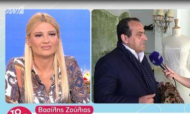 Ο Ζούλιας «ξαναχτυπά» κατά της Χατζηβασιλείου! Οι νέες ατάκες του on camera για το ντύσιμό της
