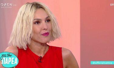 Eurovision 2019: Όλα όσα αποκάλυψε η Τάμτα στον Μουτσινά για την εμφάνισή της και το πρόβλημα υγείας