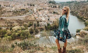 Το ταξίδι της Σπυροπούλου στην Ισπανία με τον Κοκλώνη και οι όμορφες φωτογραφίες