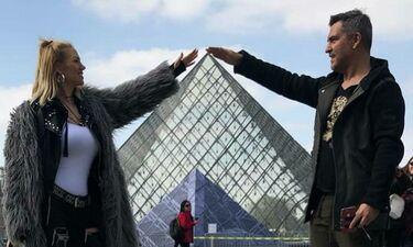 Απόδραση στο Παρίσι για την Σάσα Μπάστα και το αμόρε της